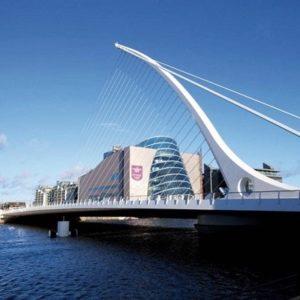 Samuel Beckett bridge - Dublin (gebouwd door Hollandia)